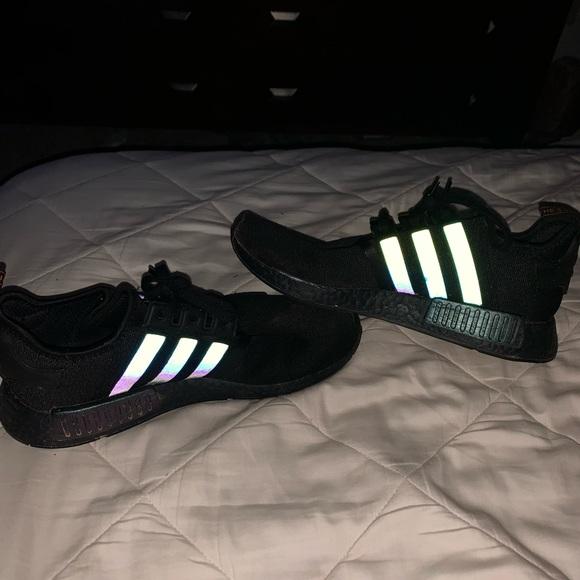 adidas Shoes   Blackreflective Nmd Size
